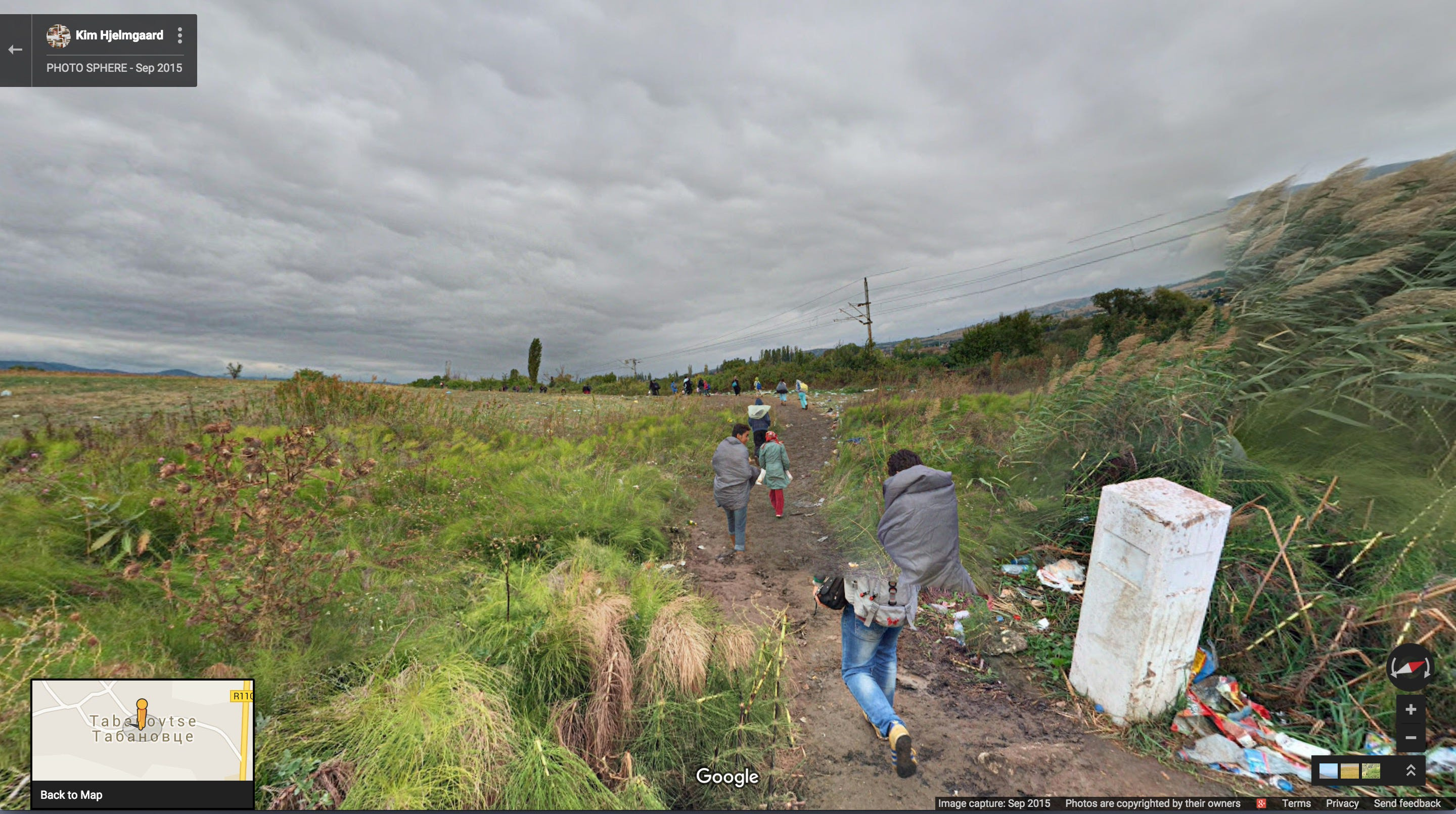 360 Panorama of the Border