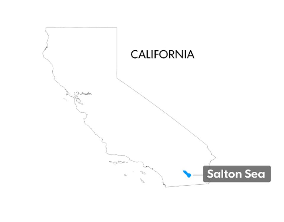 Salton Sea The Salton Seas Crisis Explained USA TODAY - Salton sea on us map