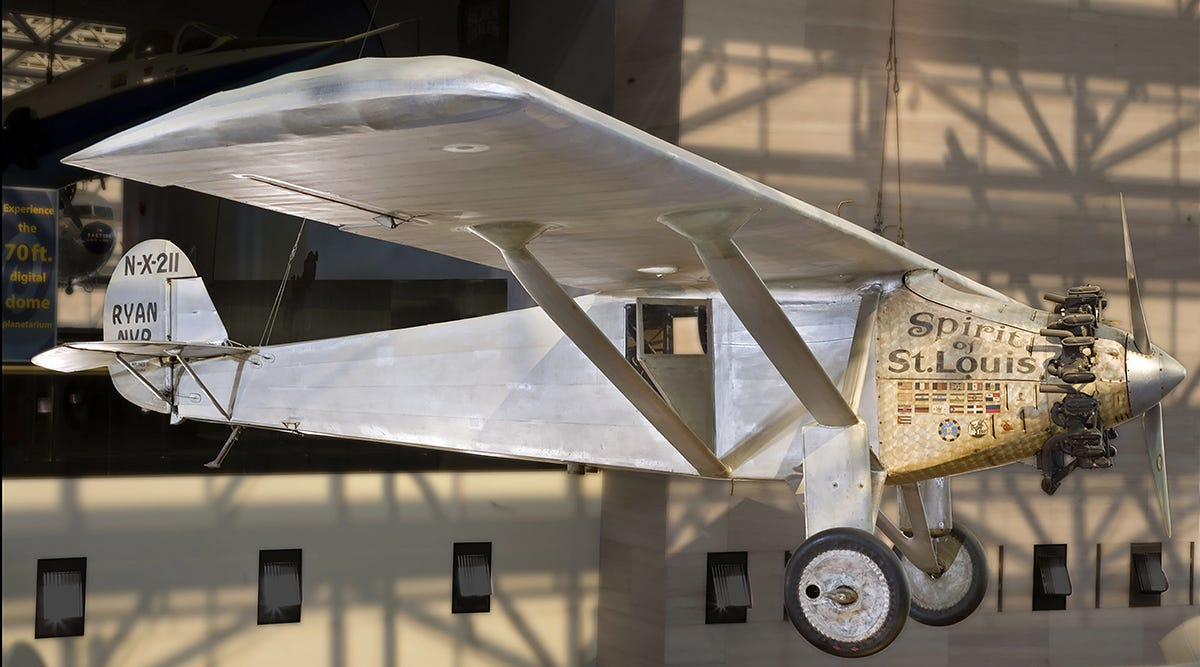 Charles Lindbergh and the flight of the Spirit of St  Louis - USA TODAY