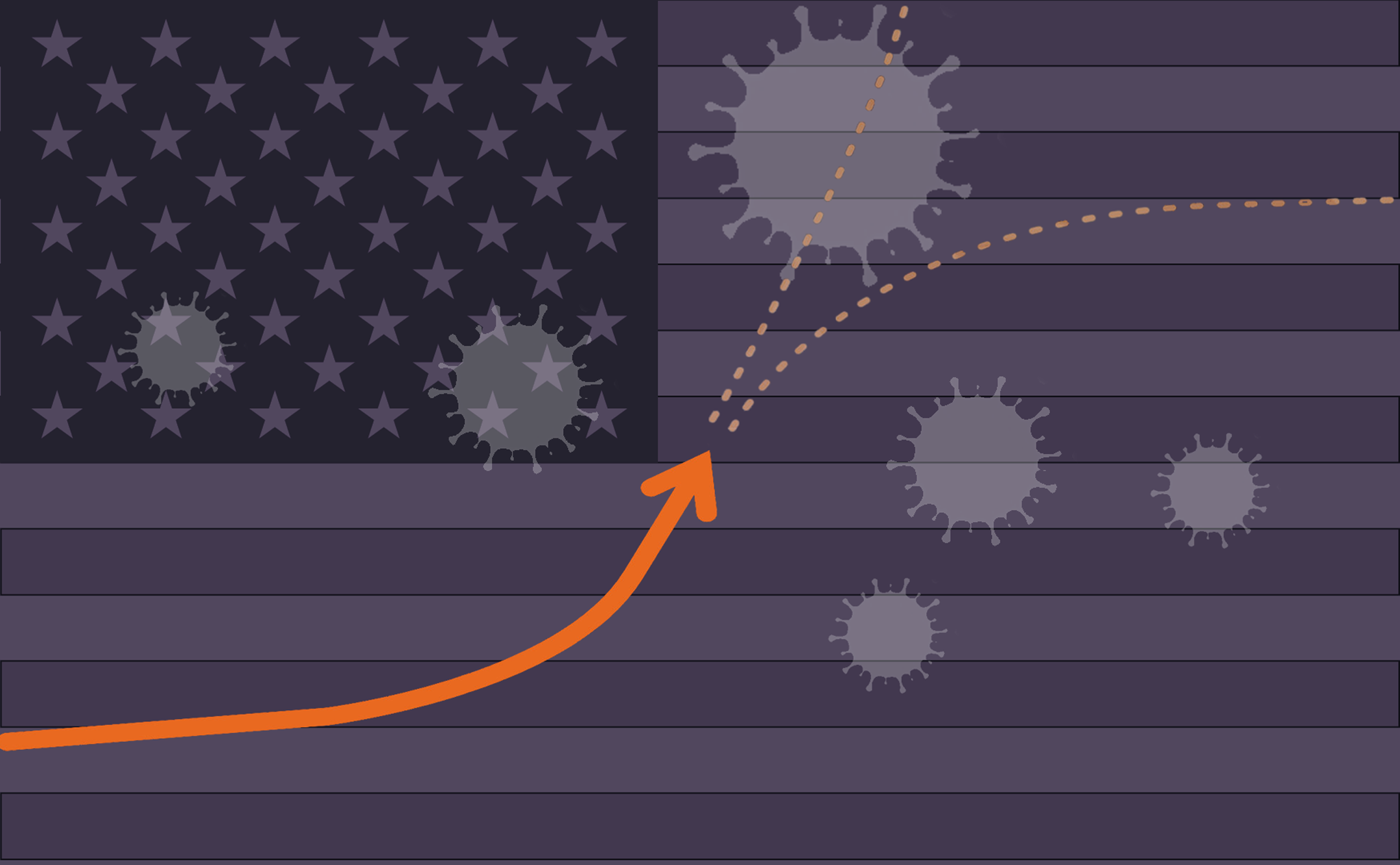Coronavirus Curve In Us May Be At Its Most Dangerous Point