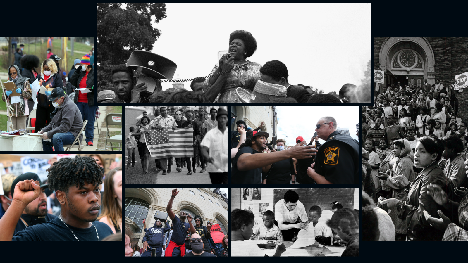 A look at the civil rights movements in Milwaukee from the 1960s and today.