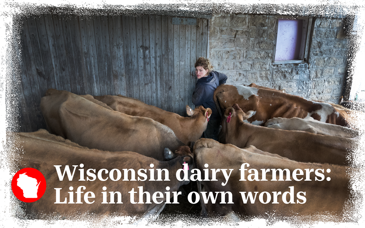 Meet the operators of four farms across the state we're following this year.