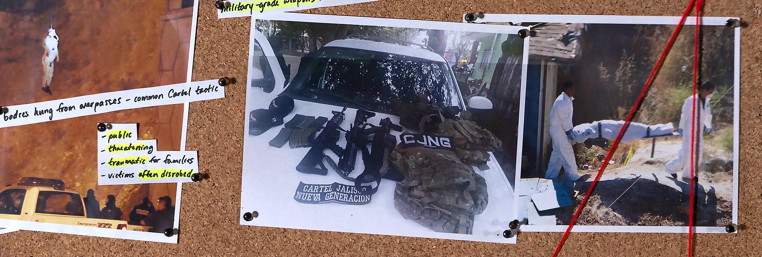 Living among warring cartels