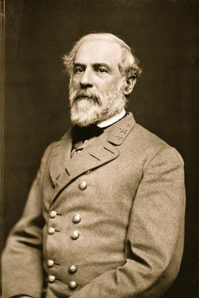 Old portrait of Robert E. Lee