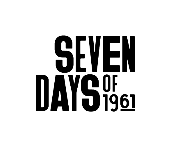 Seven Days of 1961 wordmark