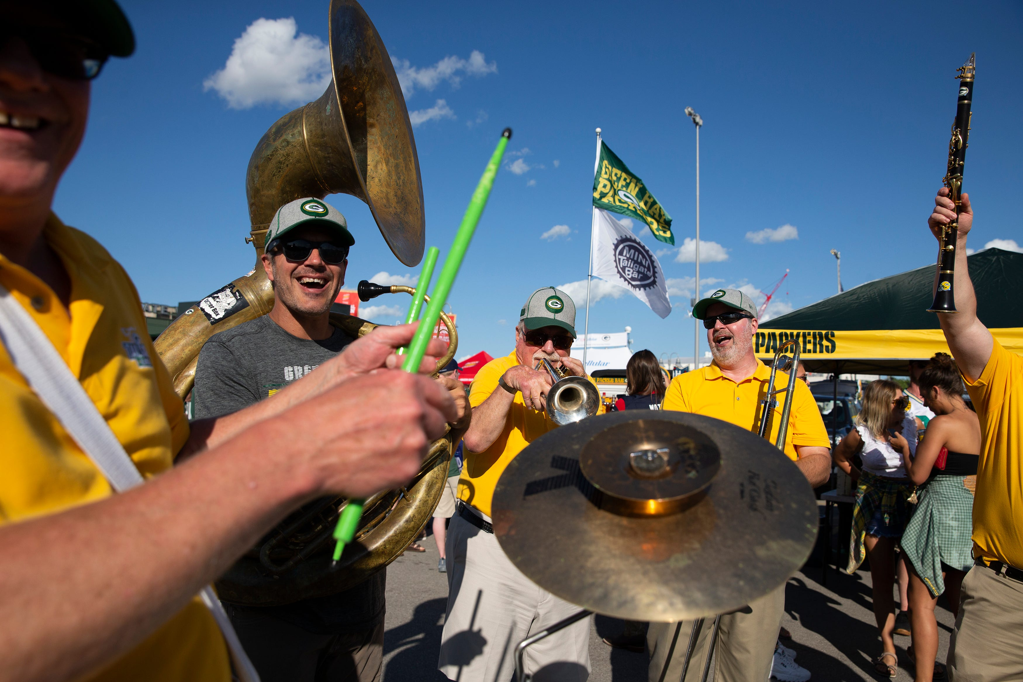 Packers Tailgaters Band
