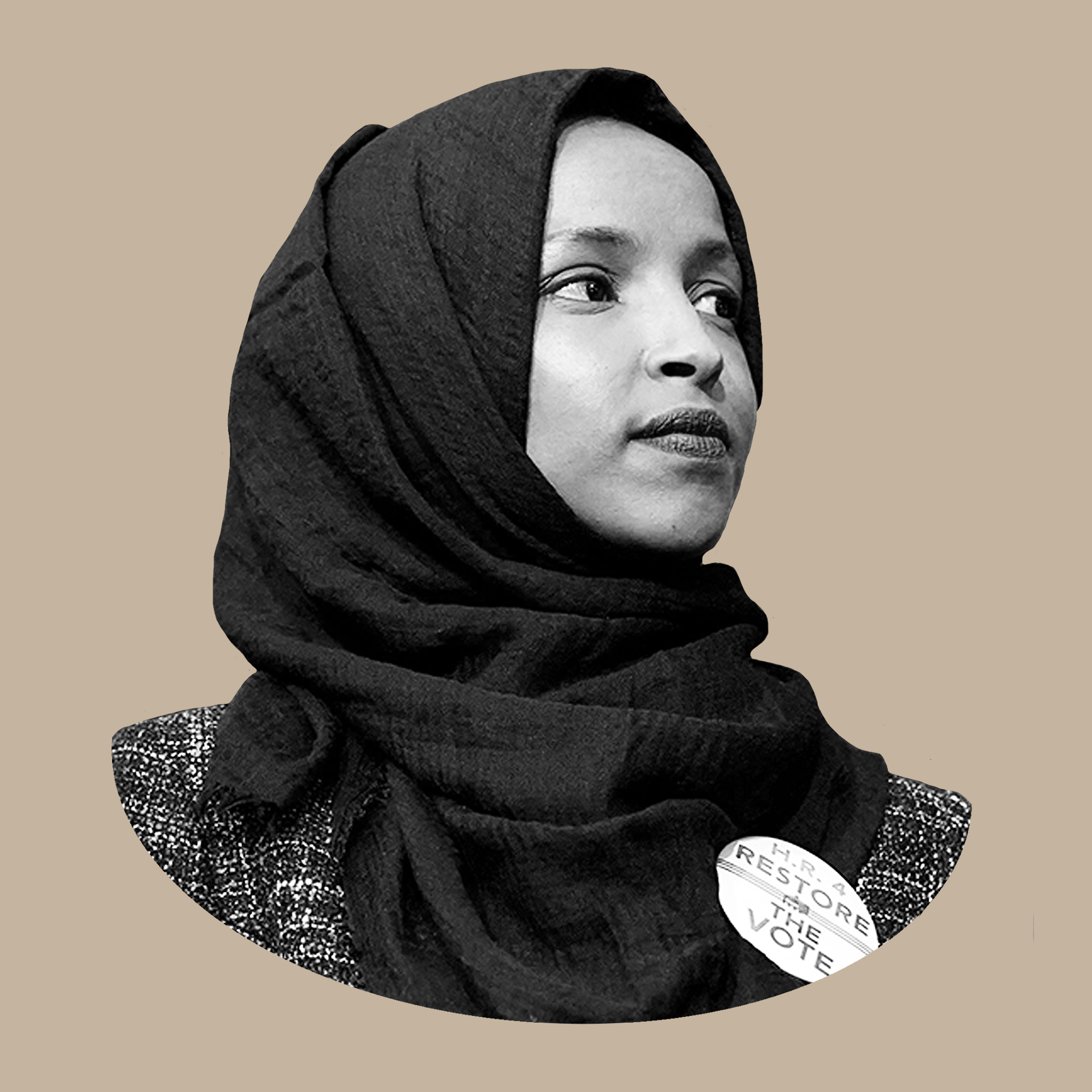 Headshot of Rep. Ilhan Omar