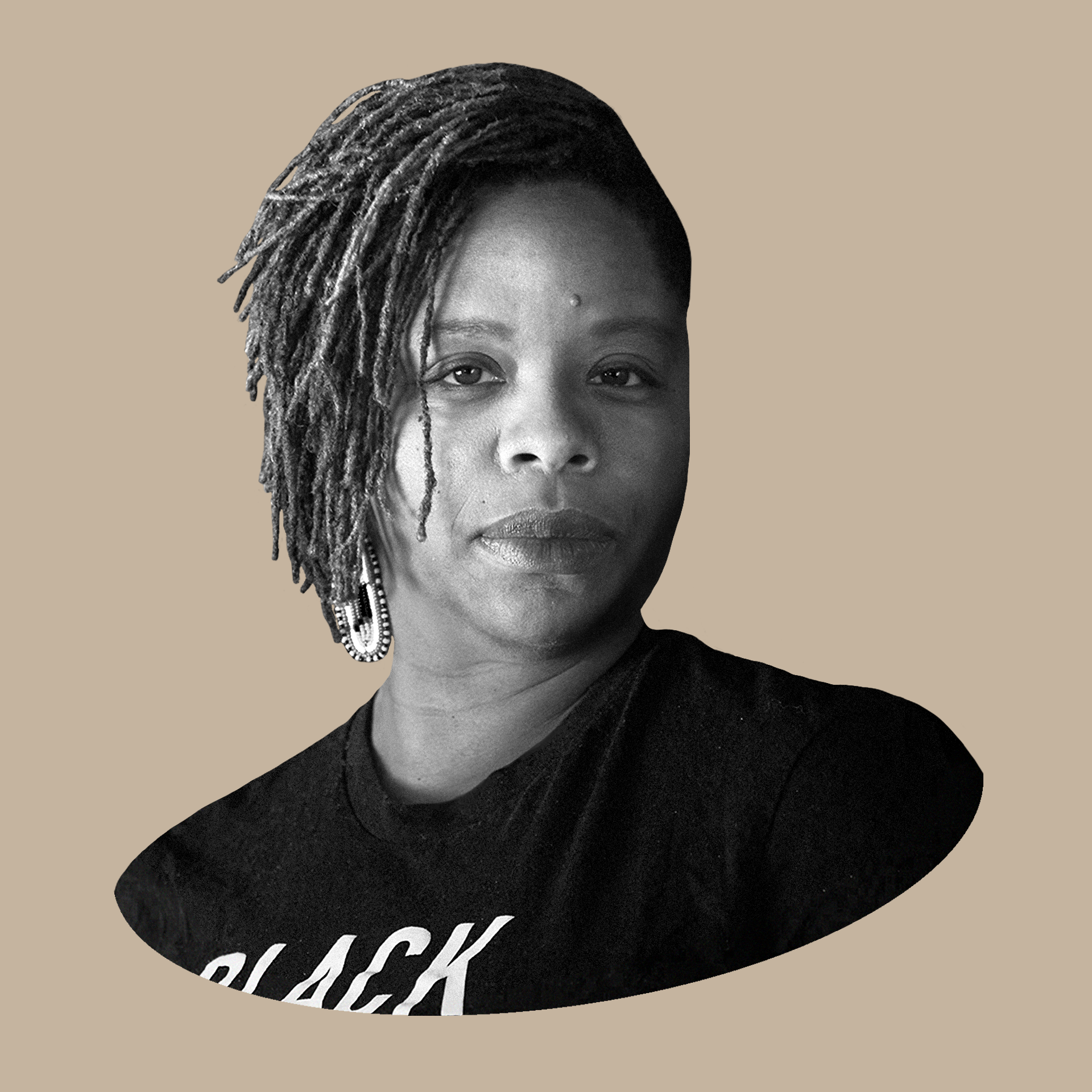 Headshot of Patrisse Cullors