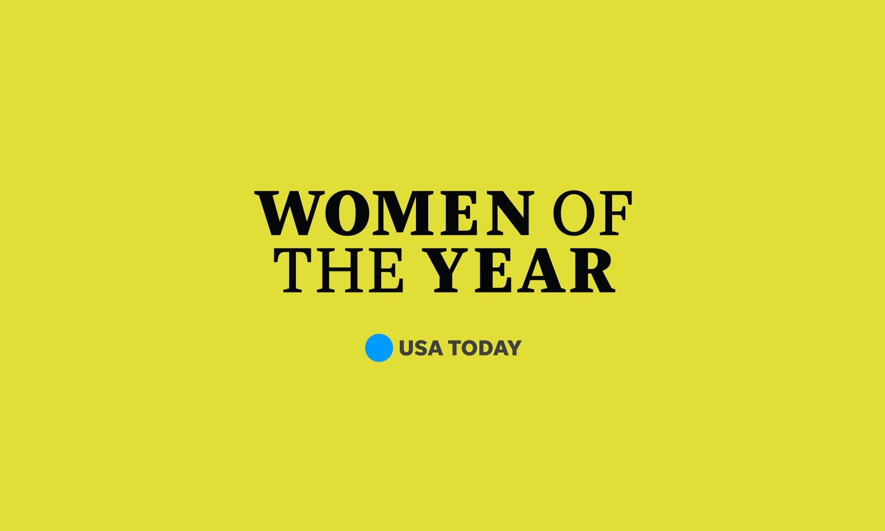 Women of the Year wordmark