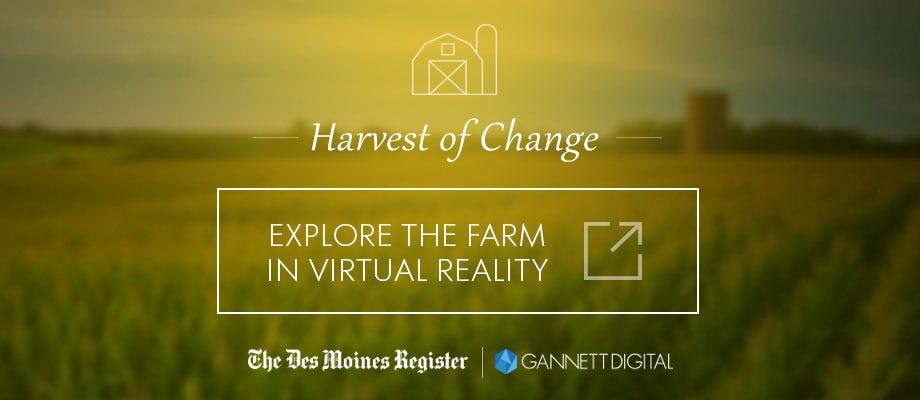Explore the farm in virtual reality