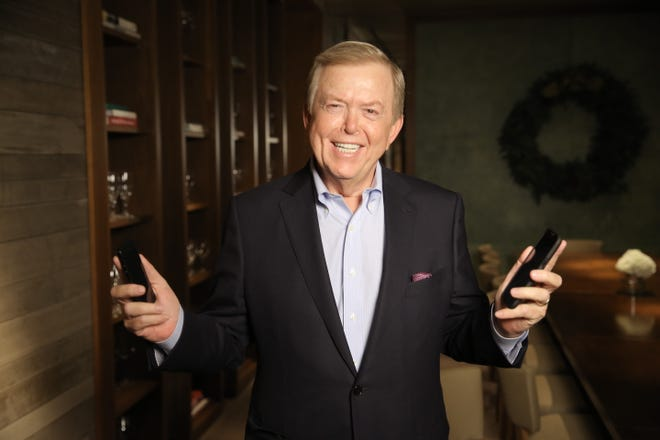 Lou Dobbs, the former Fox Business Network anchor, at the St. Regis Monarch resort in Dana Point, Calif., in December 2014.