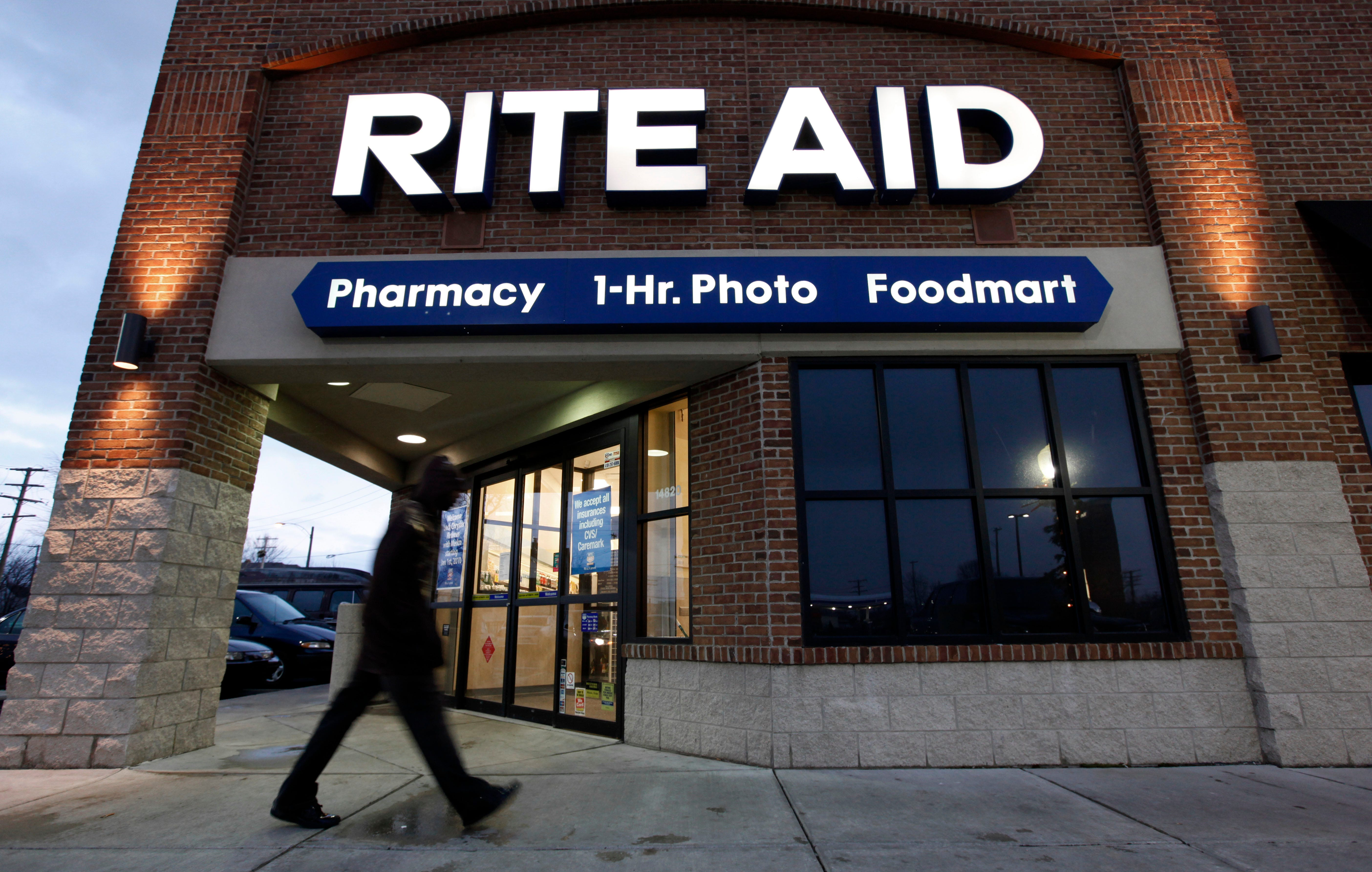 Rite Aid shares rise on earnings beat