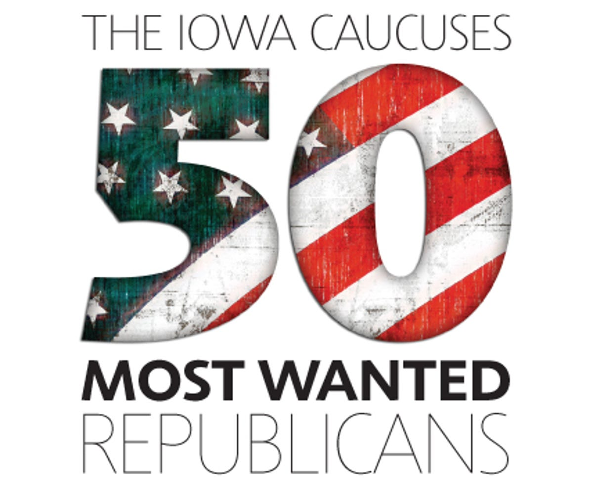 Iowa caucuses: 50 most wanted Republicans