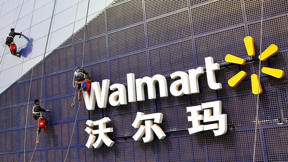 Wal Mart's China blues
