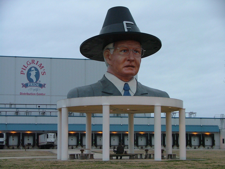 Pilgrim's Pride distribution center in Pittsburg, TX.