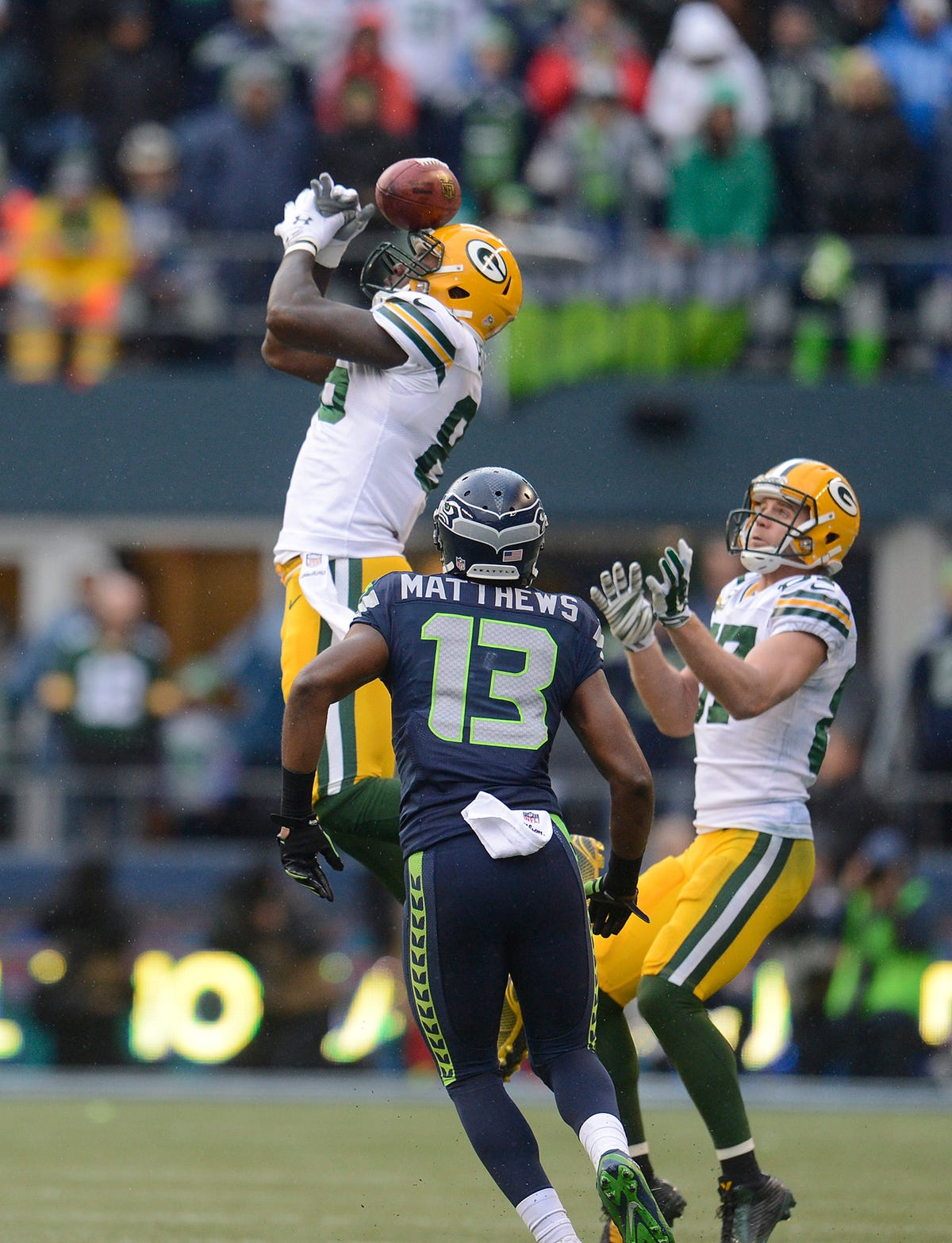 Packers Head For Super Bowl In Blur Of >> Former Packers Te Brandon Bostick Finds Peace After Botched Onside Kick