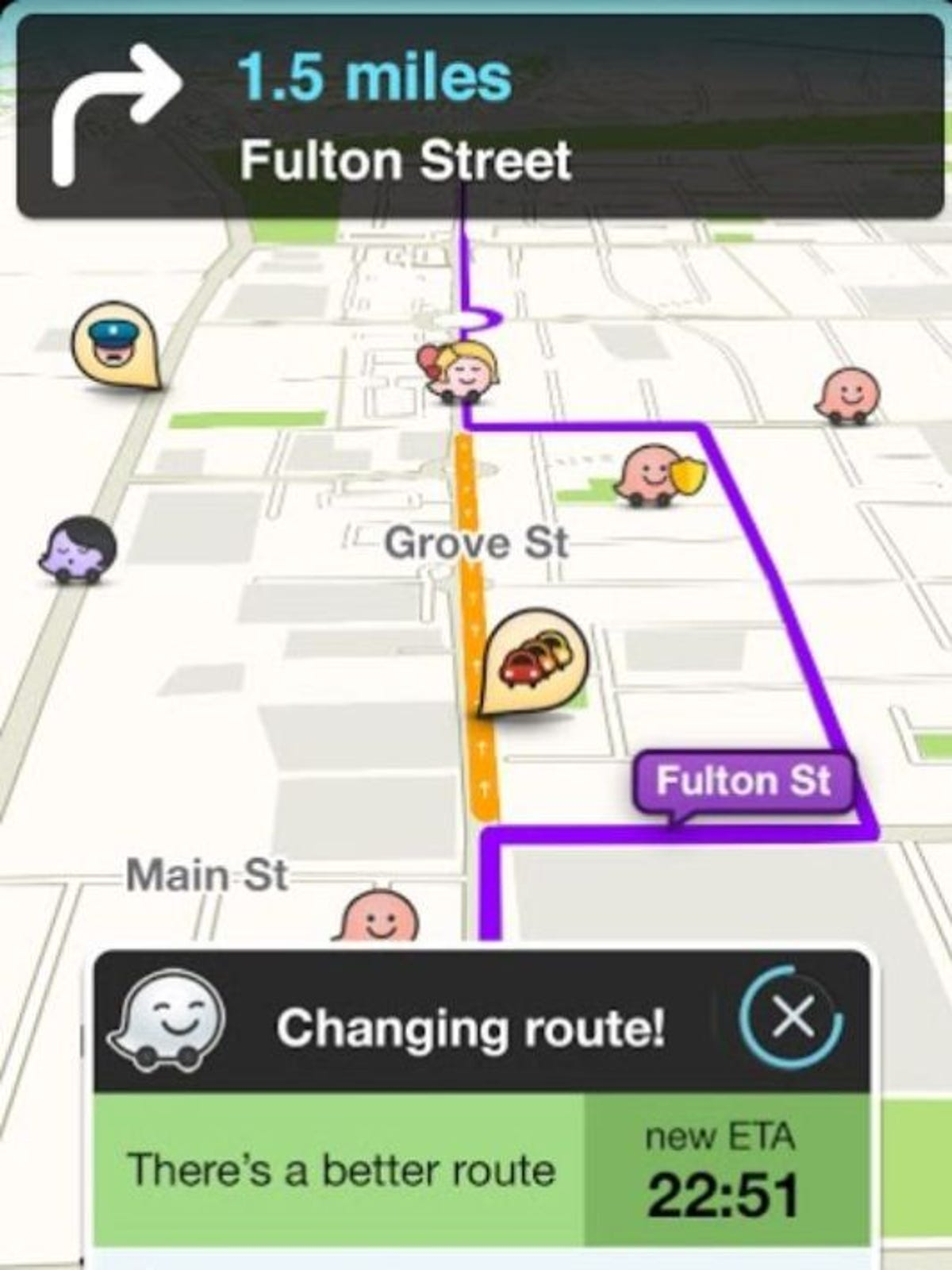 Police to Google: Disable cop tracking in Waze