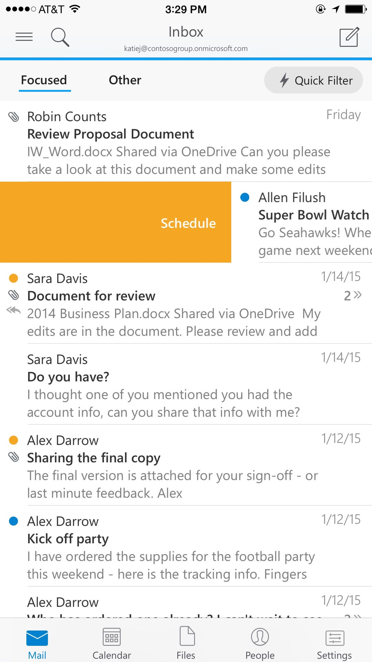 I spent two days using the new Outlook for iPhones: Baig