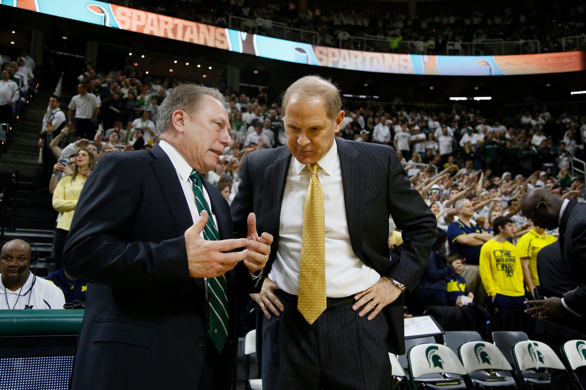 Michigan State-Michigan protected as Big Ten goes to 20-game men's basketball schedule