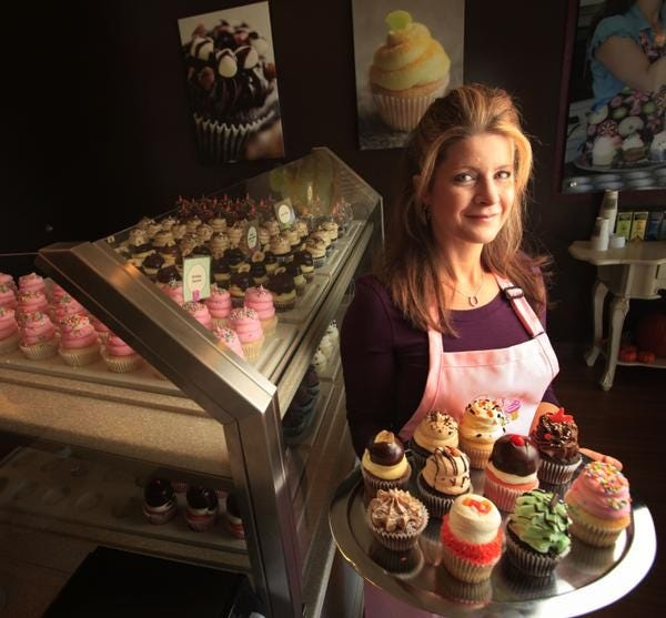 Gigi's Cupcakes owner Gigi Butler.