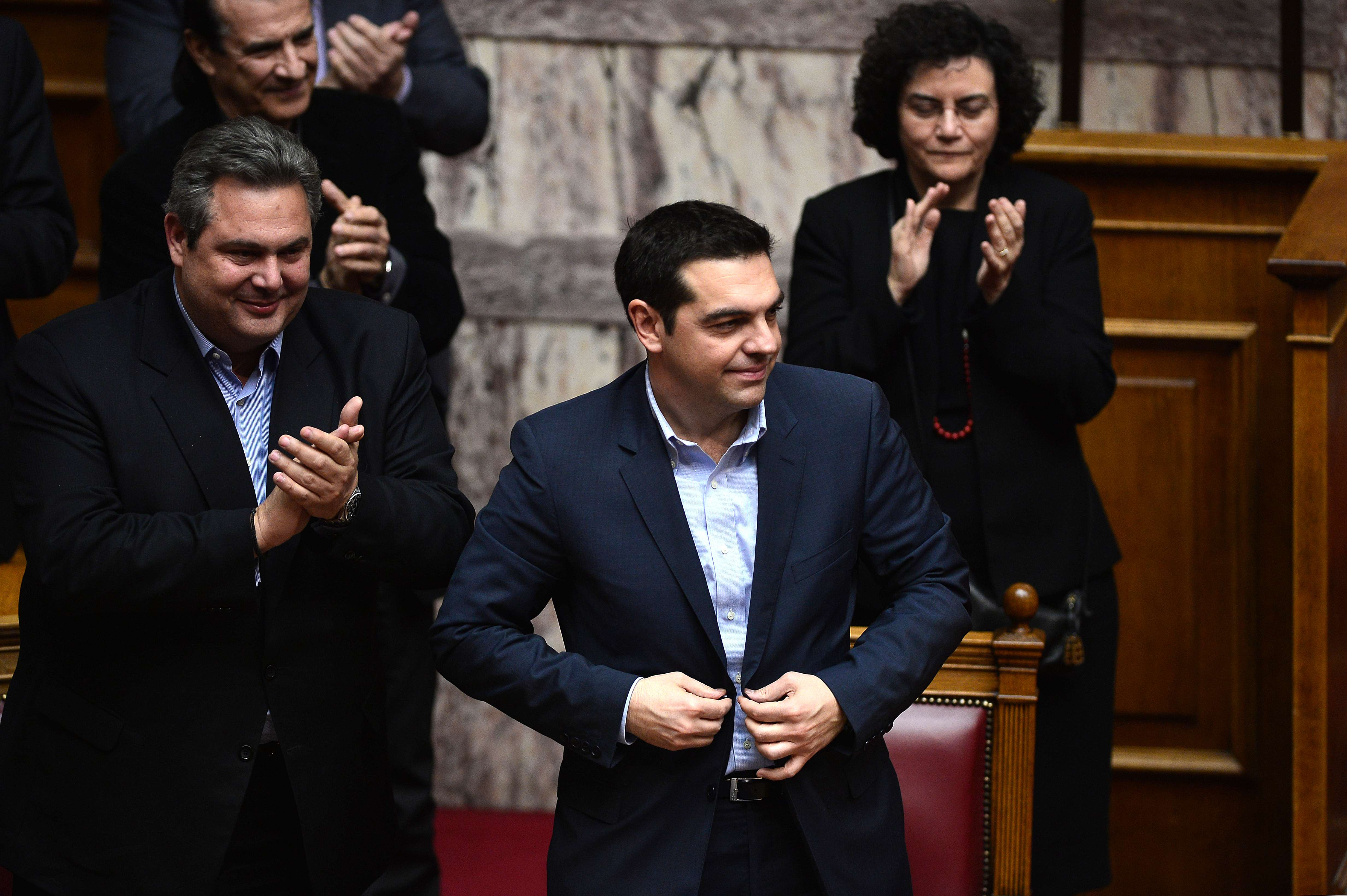 Finance ministers hold emergency talks on Greece