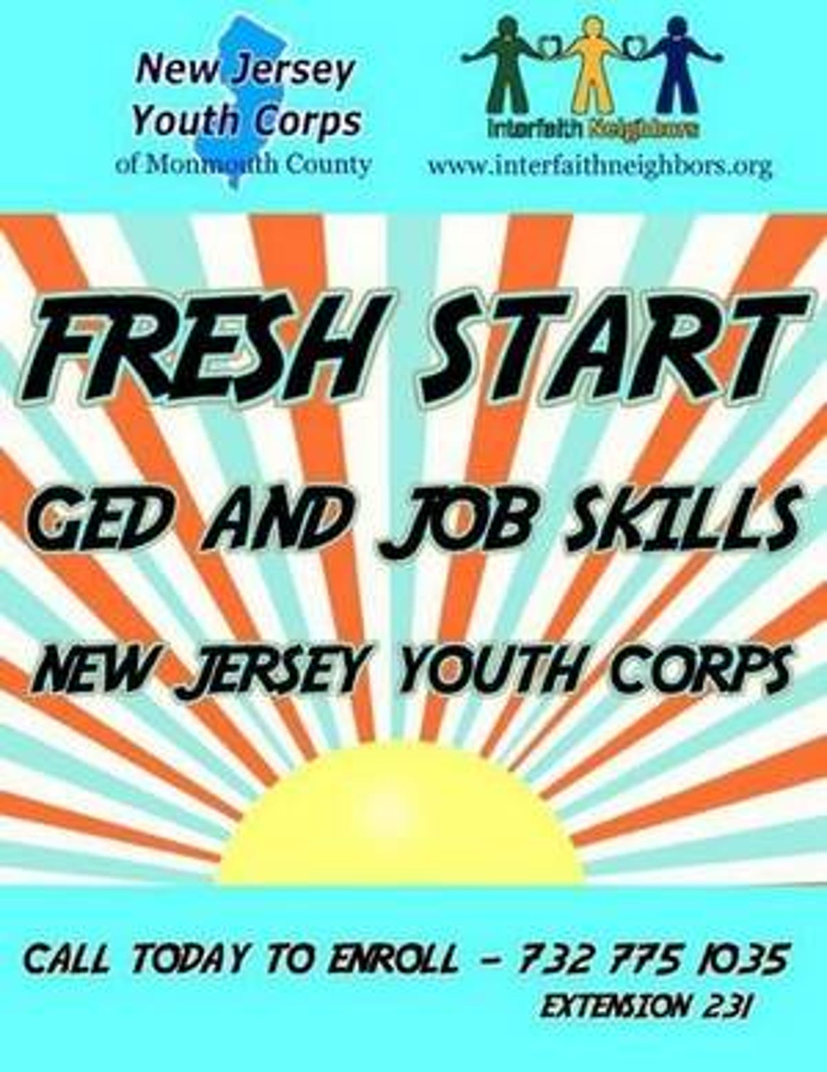 Excellent Study For Ged And Gain Job Skills With Nj Youth Corps Interior Design Ideas Tzicisoteloinfo