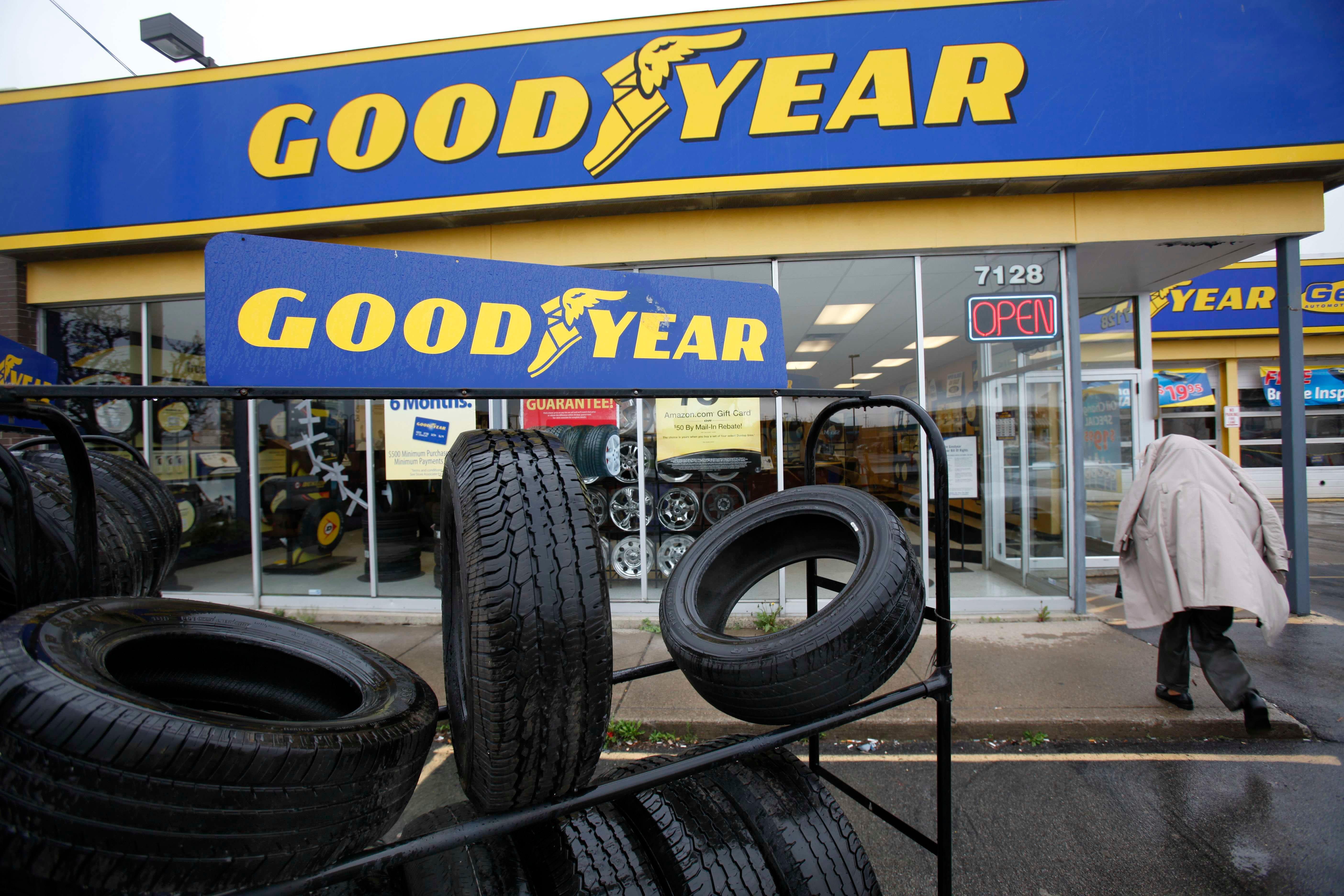 Goodyear Tire earnings helped by $2.2B tax break