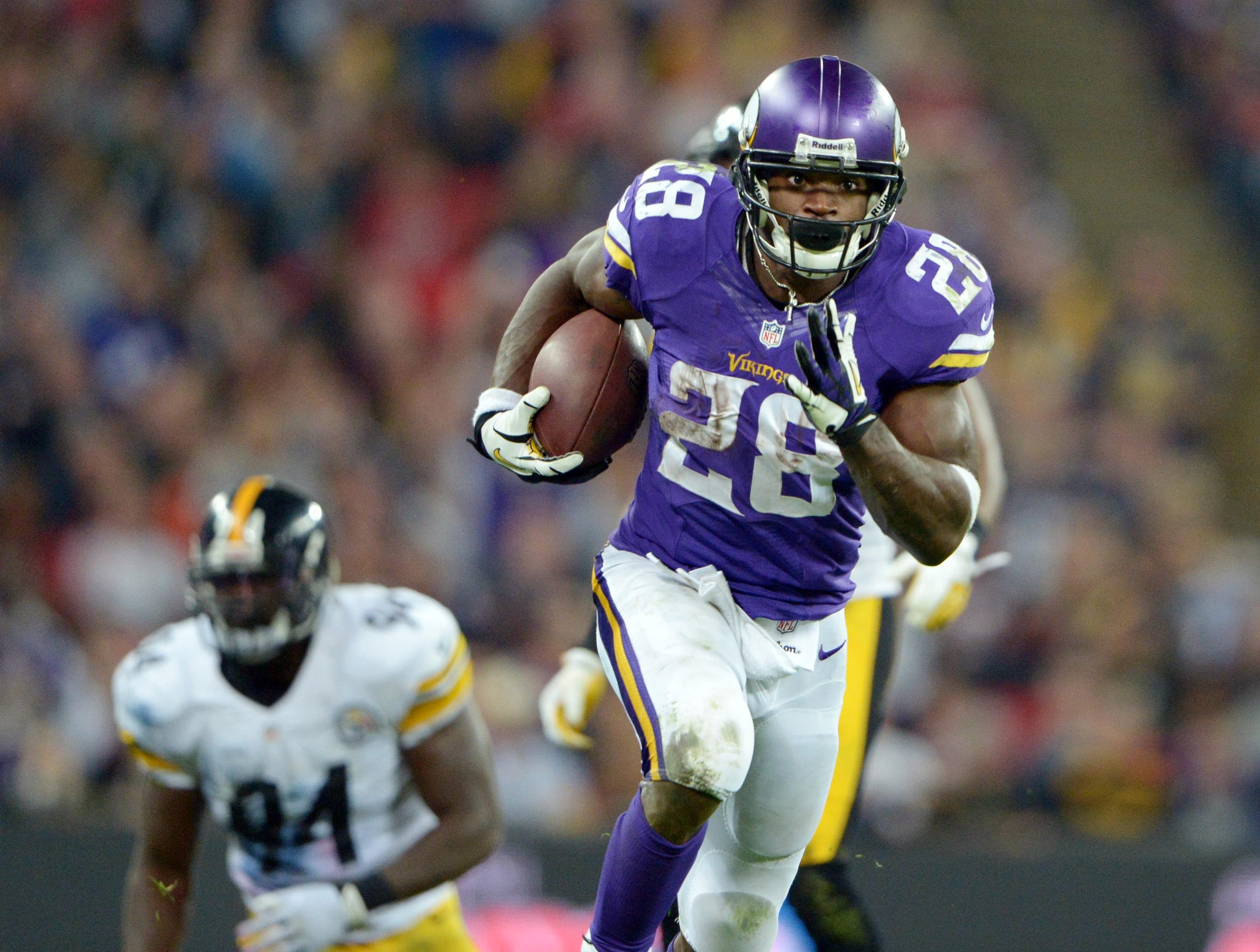 e4380280c93 Adrian Peterson s career in pictures