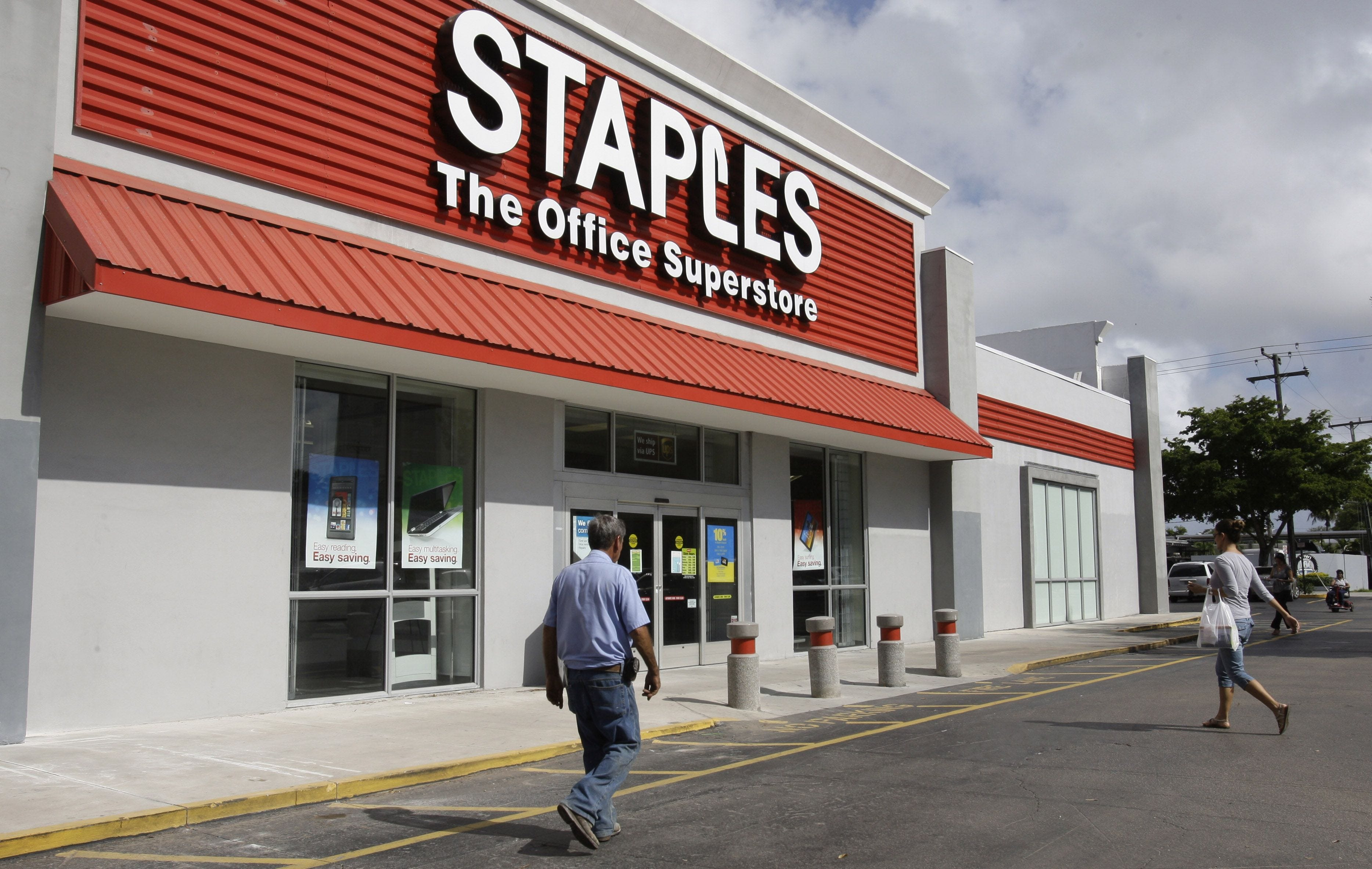 Report: Staples could be sold to private equity investors