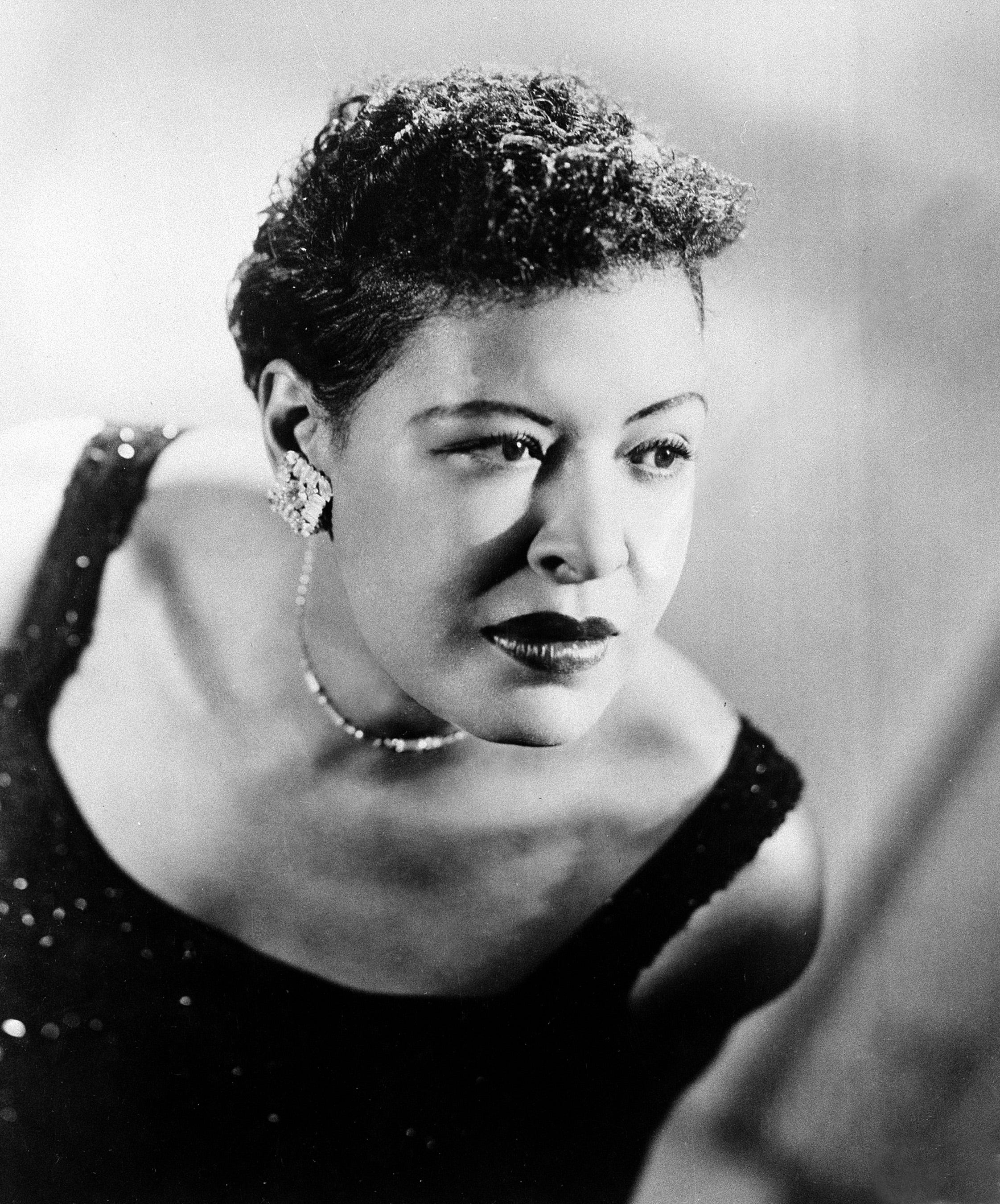 Billie Holiday, the legendary American jazz vocalist, was born on April 7, 1915, and died in 1959 at the age of 44.
