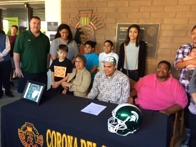 Ex-Corona del Sol DL Cassius Peat 'blindsided' by Michigan State