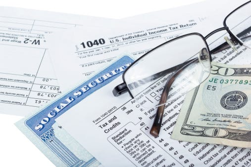 For some Social Security taxes can really pile up