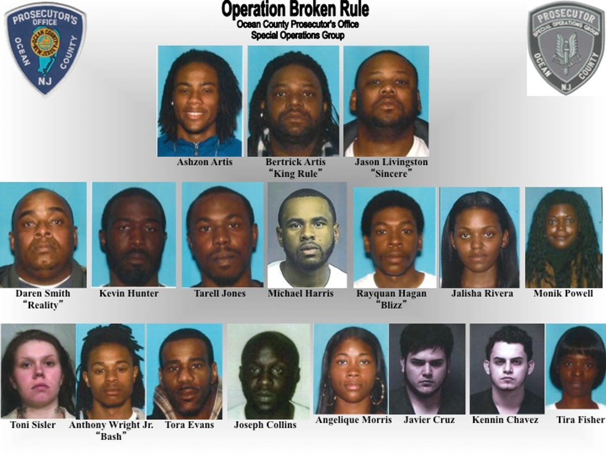 Ocean County drug busts: Here's a list of the 5 biggest