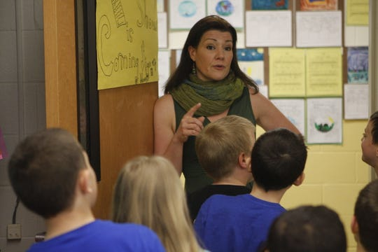 Krista Berardi, a Brewster school board member and art teacher in the Carmel schools, was photographed by The Journal News/lohud in 2015. Many are seeking her resignation from the Brewster Board of Education.