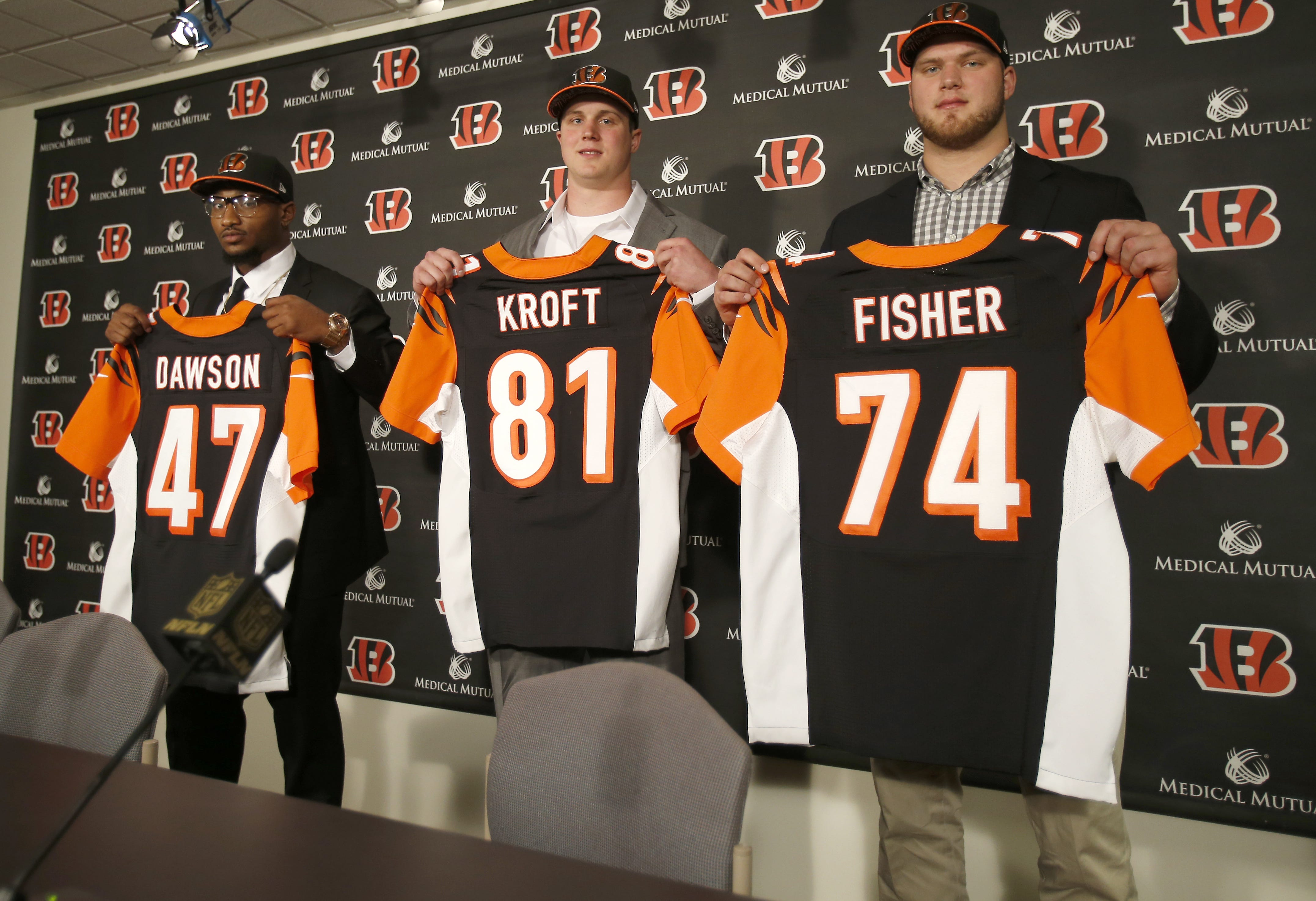 Jake Fisher NFL Jersey