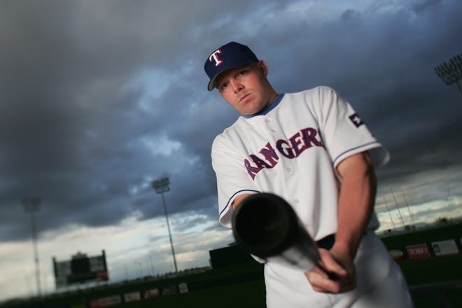 Kevin Mench spent parts of eight season in the big leagues, where he hit 89 homers and drove in 331 runs.