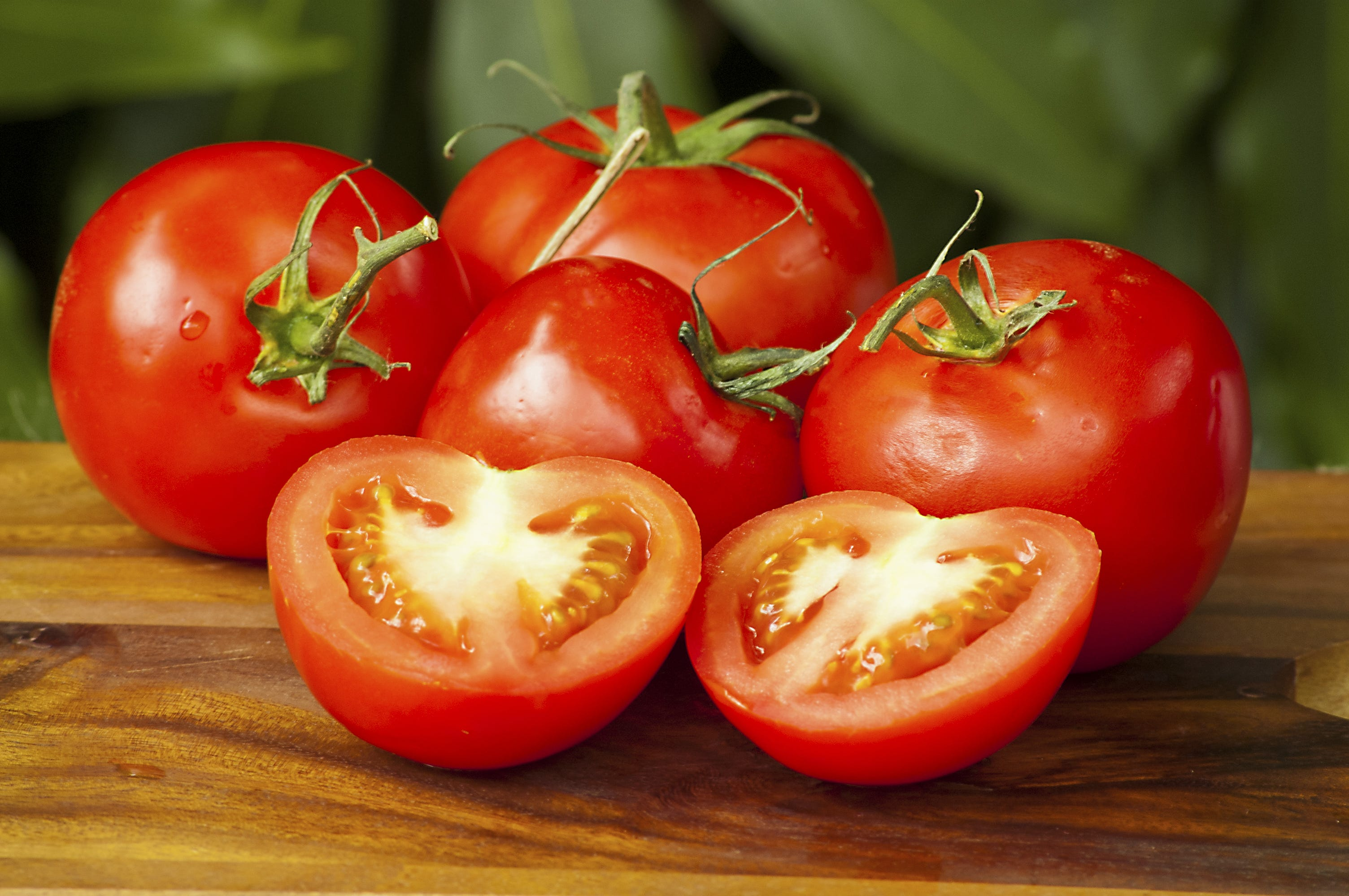 For this recipe, you will need four small to medium tomatoes.