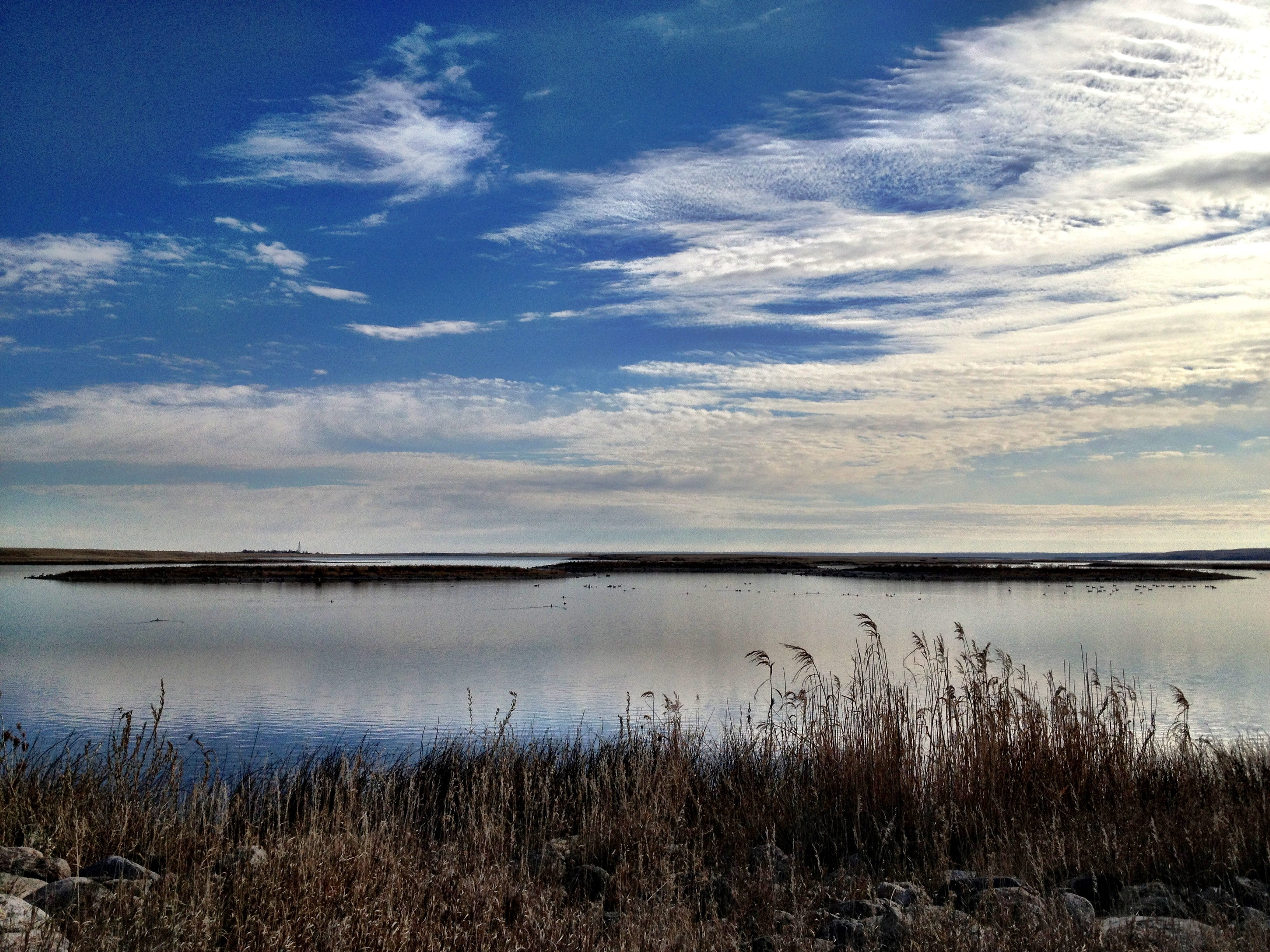 Spring is a great time to explore Medicine Lake National Wildlife Refuge in northeastern Montana.