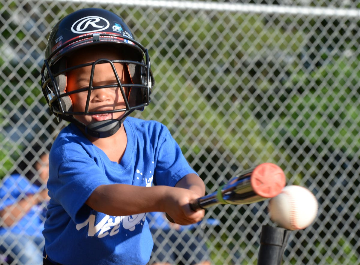 Future Major Leaguers learn the basics at wee ball