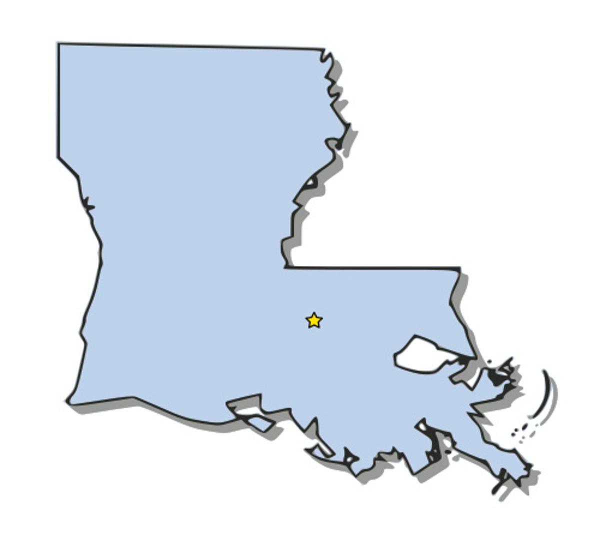 Louisiana DMV offices can't process transactions