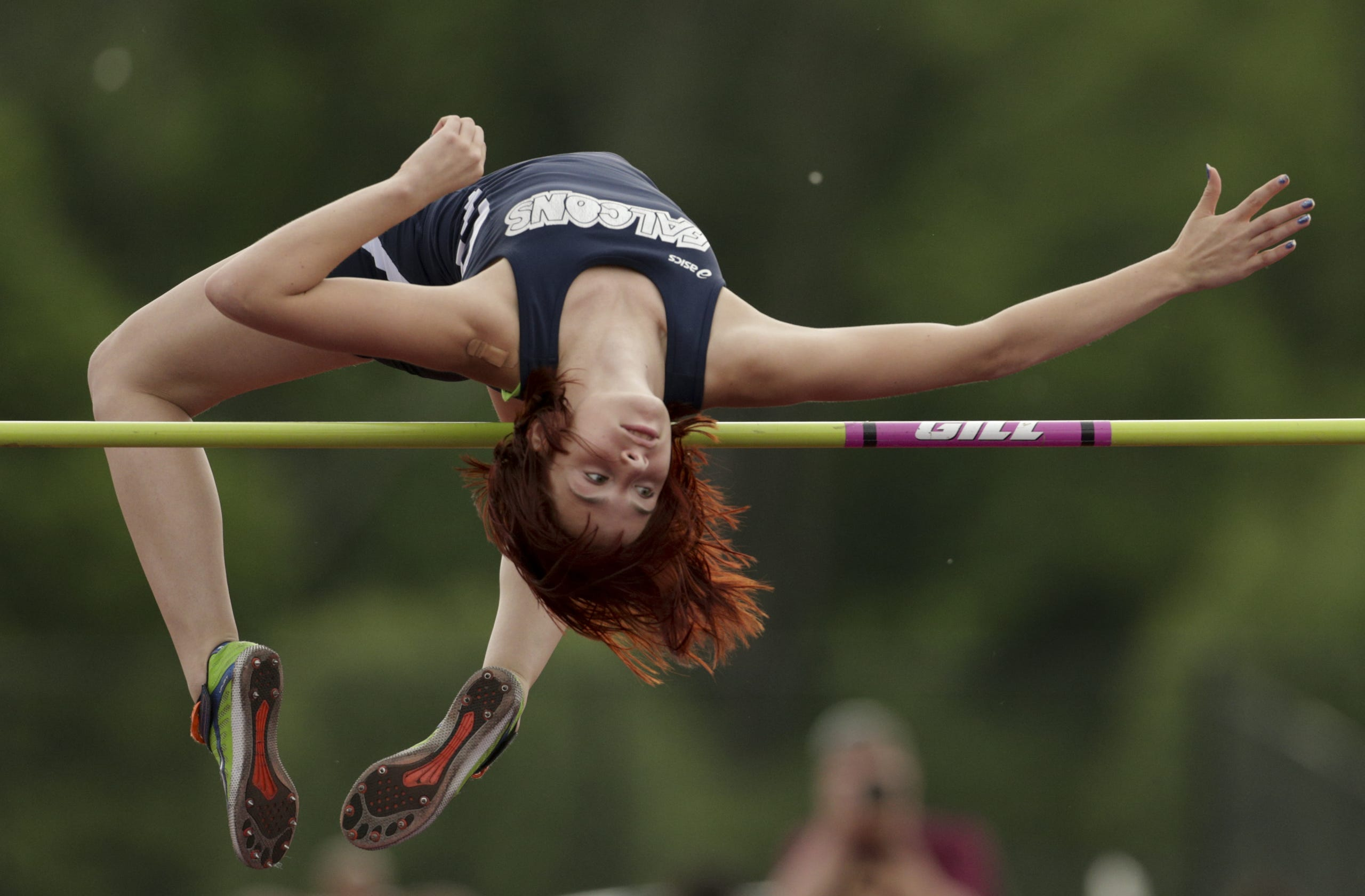 Girls track and field regional