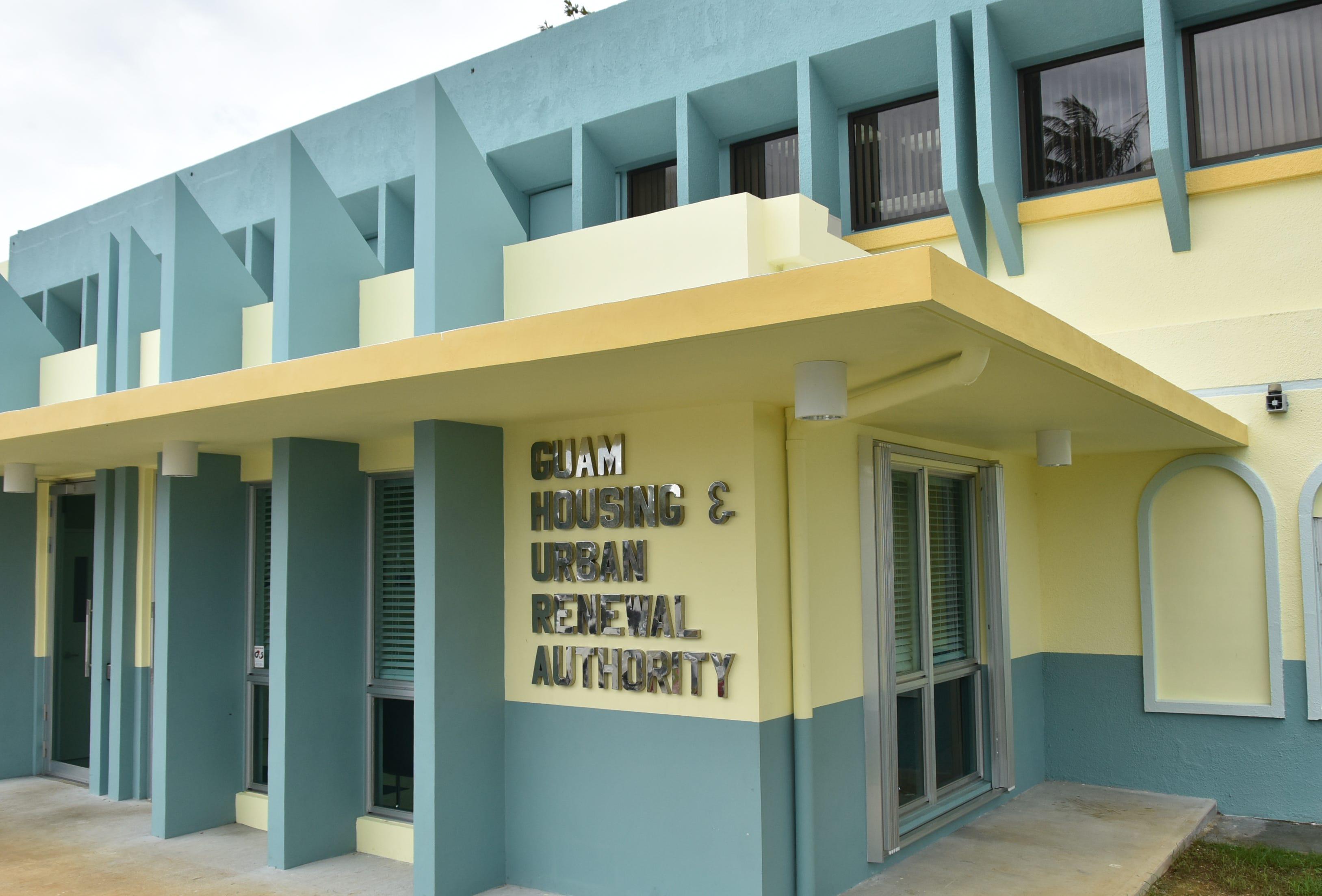 The Guam Housing and Urban Renewal Authority office in Sinajana.