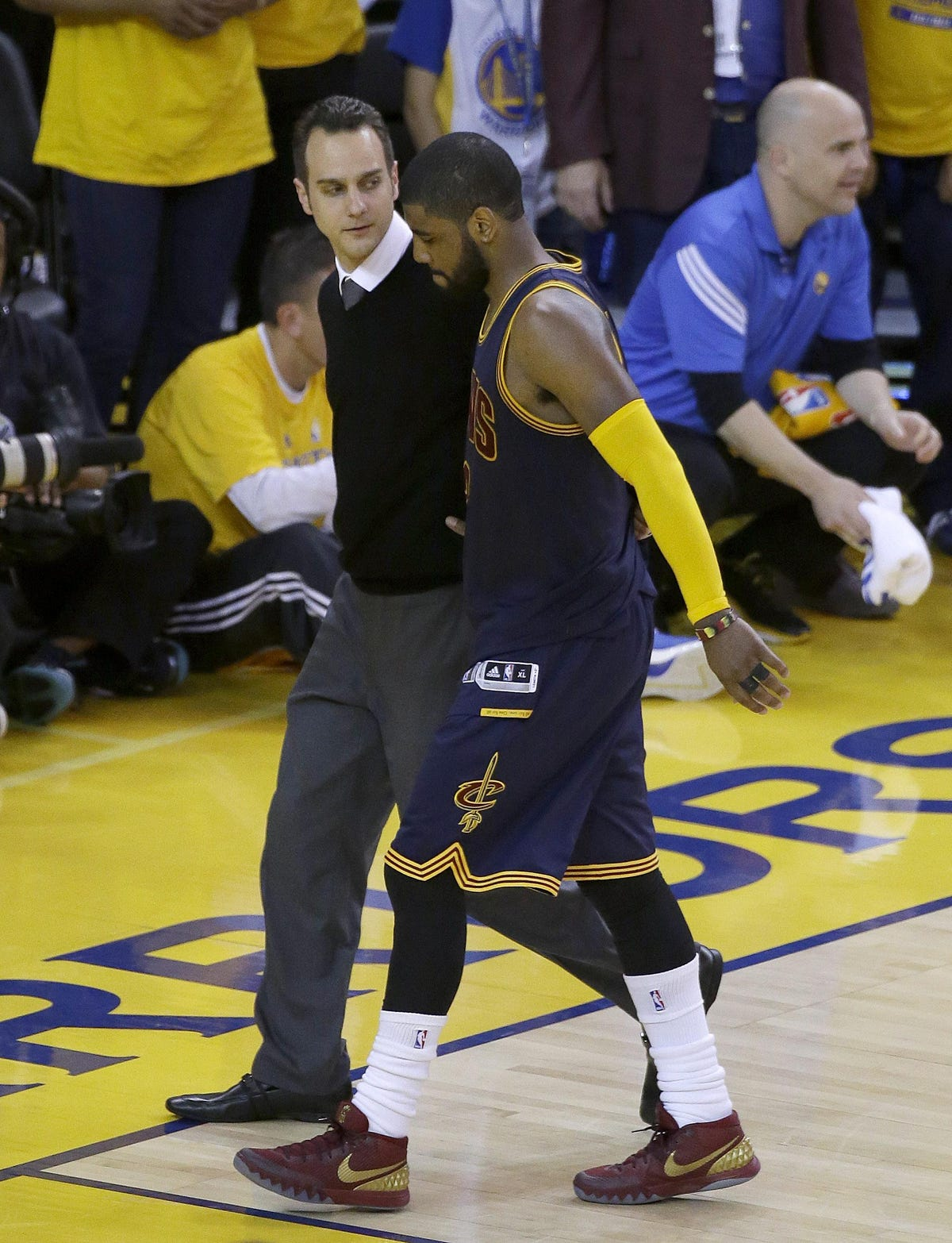 on sale 1296f caea7 NBA Finals: Twitter abuzz as Kyrie Irving out 3-4 months