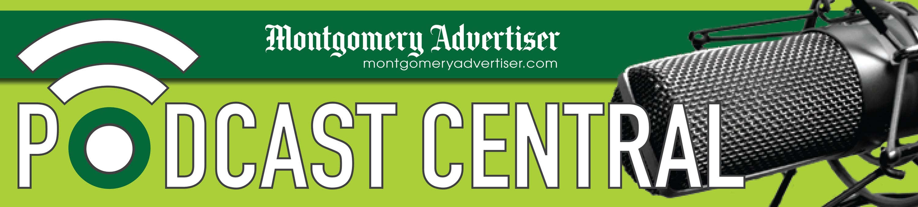 Podcasts- Montgomery Advertiser podcast homepage