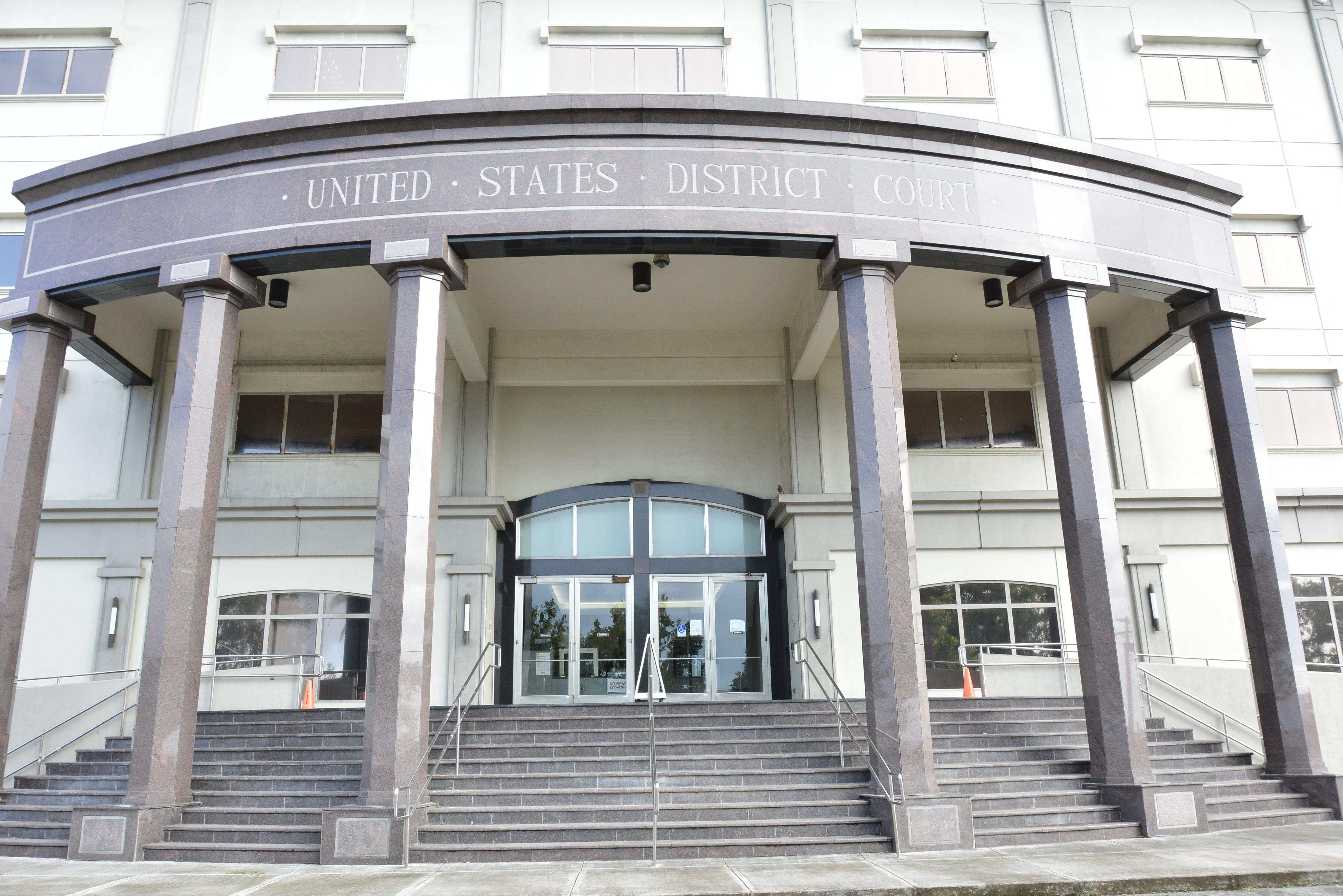 The U.S. District Court in Hagåtña.
