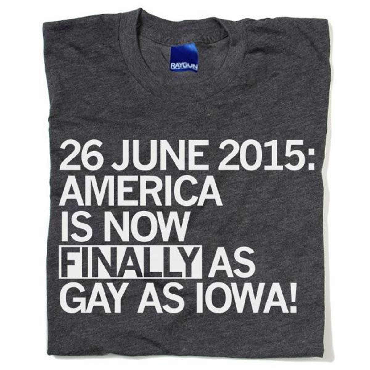 Raygun: America is 'finally' as gay as Iowa