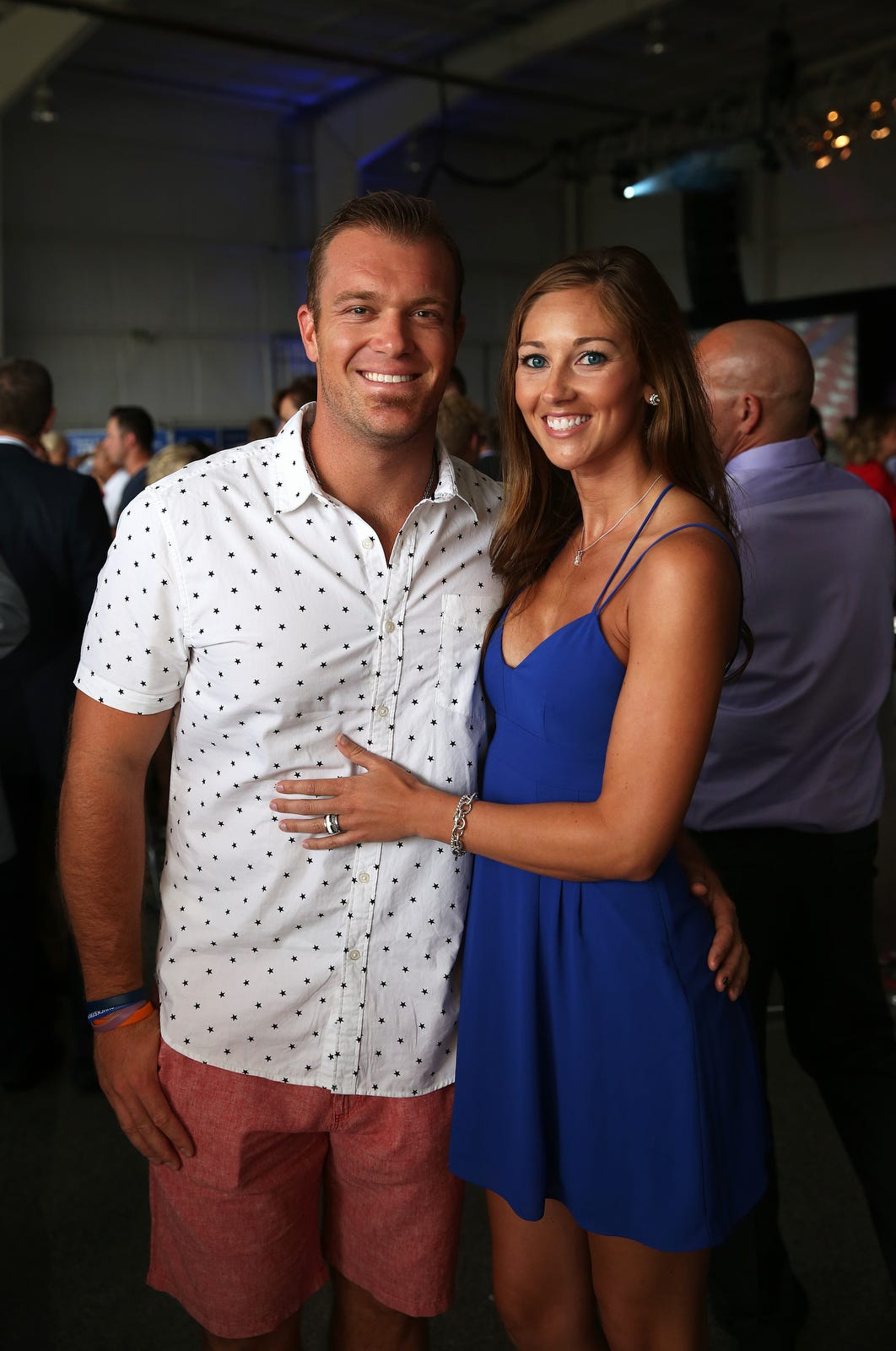 Former Colts player Matt Overton engaged to former Colts cheerleader Breanna Fonner