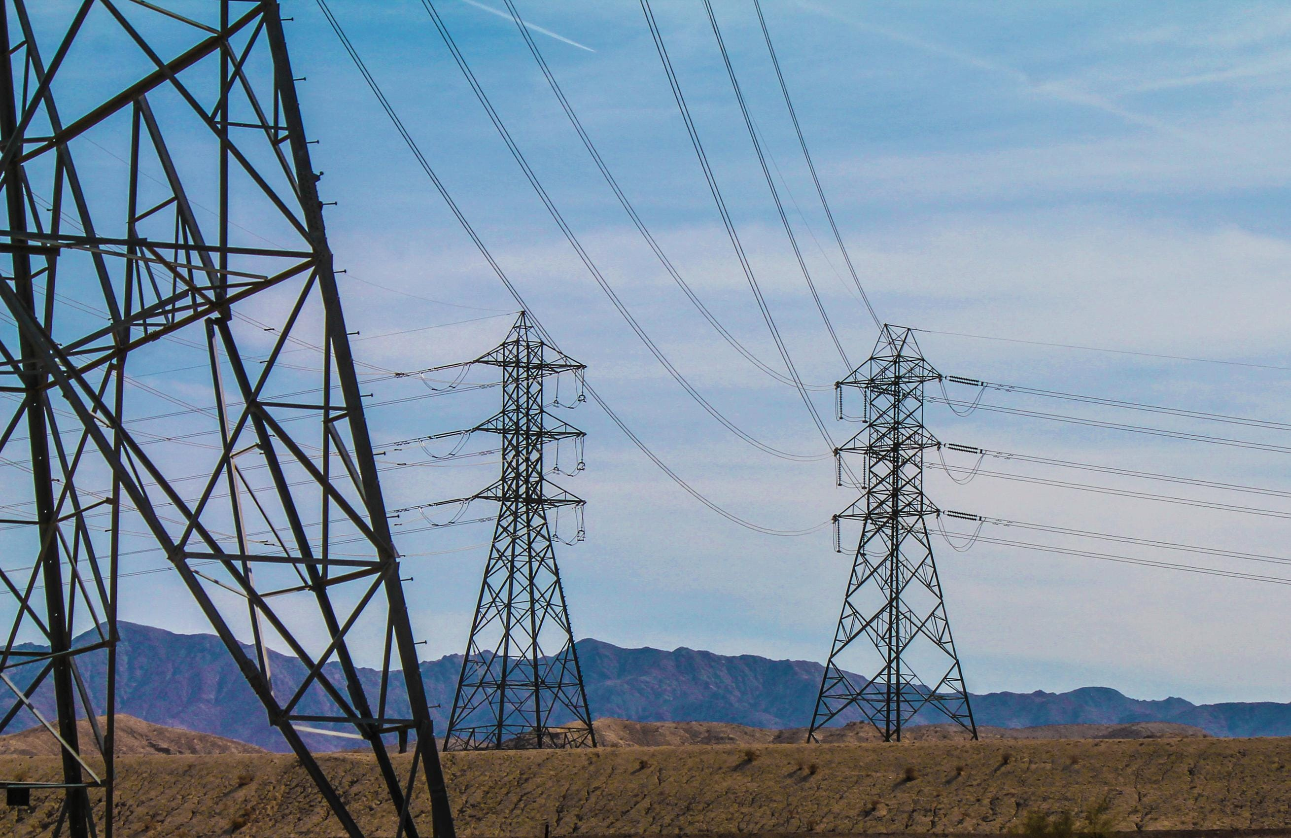The Imperial Irrigation District's Path 42 power lines run from a substation in the eastern Coachella Valley to a Southern California Edison substation in the west valley.