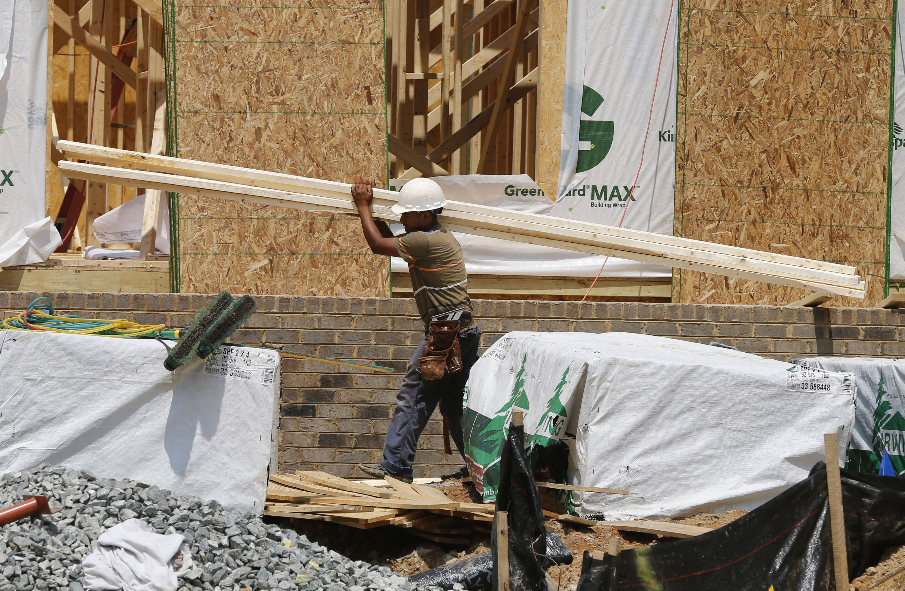 Housing starts rise 9.8% in June