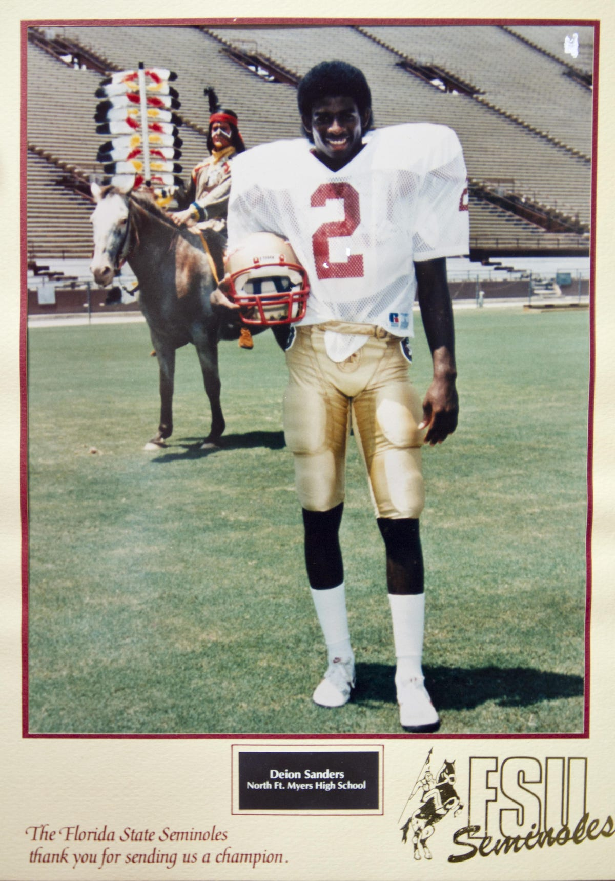 separation shoes 56f83 f4d05 Deion Sanders: Why he chose FSU 30 years ago